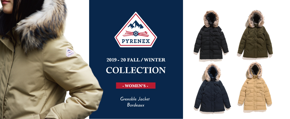PYRENEX 2019-20 COLLECTION -WOMEN'S-