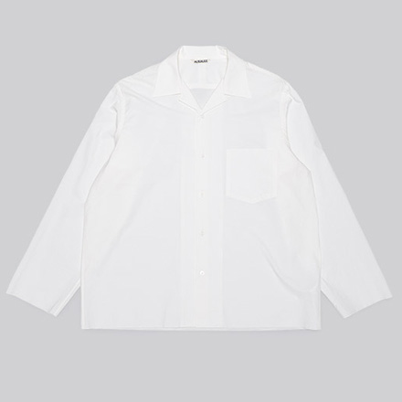 Selvedge Weather Cloth Shirts-White