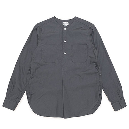 Irving Shirts-Super Fine Poplin-Grey