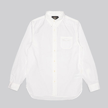 Railman Cotton Twill Workshirt-White