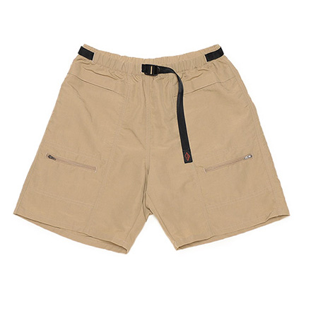 Camp Shorts-Multi Ply Taslan Nylon-Beige