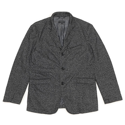 Andover Jacket-Wool Homespun-Charcoal