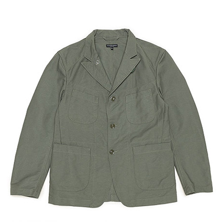Bedford Jacket-Cotton Double Cloth-Olive