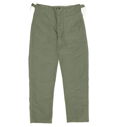 Fatigue Pant-Cotton Double Cloth-Olive