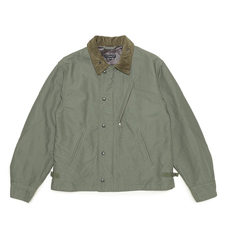 NA2 Jacket-Cotton Double Cloth-Olive
