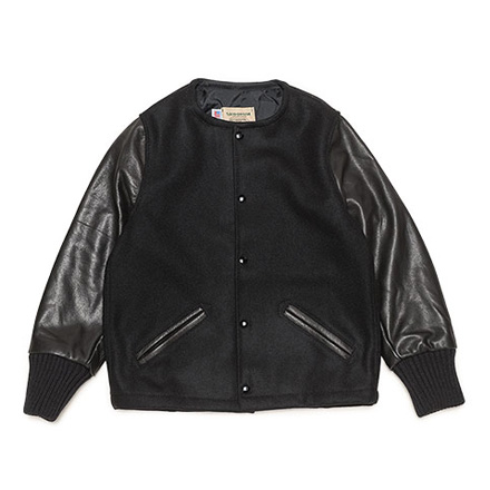 LOFTMAN別注 No Collar Blouson-Black