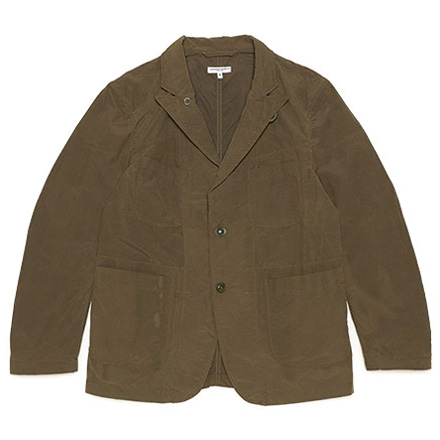 Bedford Jacket-4.5oz Waxed Cotton-Olive