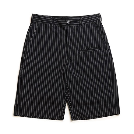 LOFTMAN別注 Transporter Short-Black Stripe