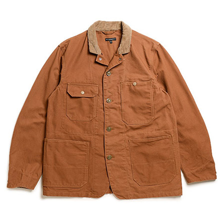 Logger Jacket-12oz Duck Canvas-Brown