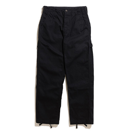 Logger Pant-12oz Duck Canvas-Black