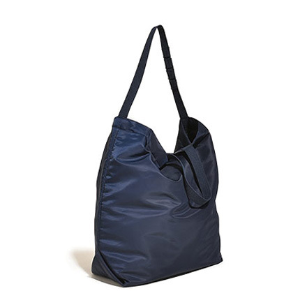 Carry All Tote with Snap Button-Dk.Navy