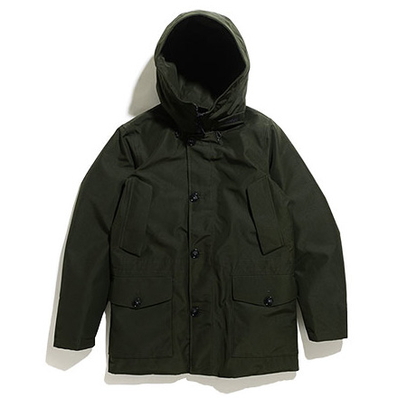 GTX Mountain Parka-Rosin Green
