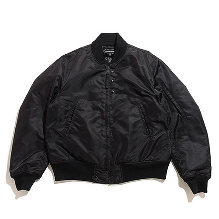 Aviator Jacket-Flight Sateen-Black