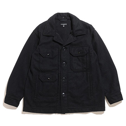 Cruiser Jacket-Wool Melton-Black