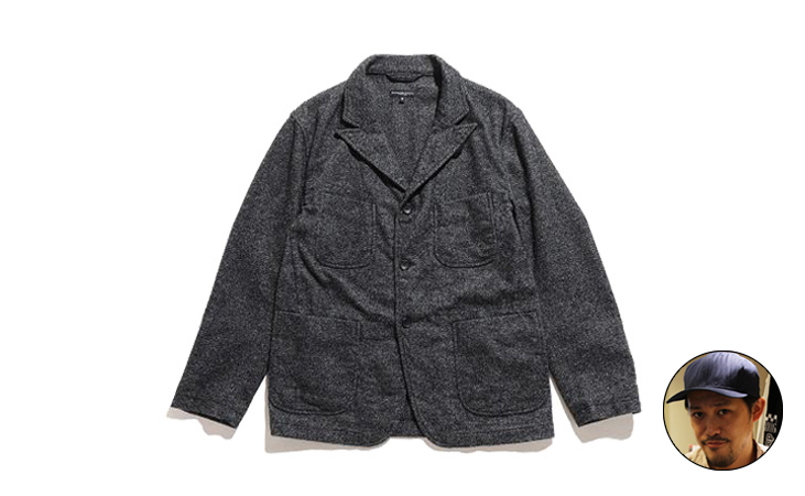 NB Jacket-Blend Homespun-Grey
