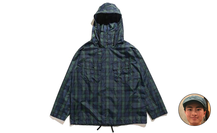 Cagoule Shirt-Nylon Cloth-Blackwatch