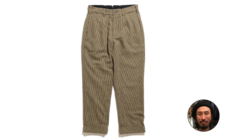 Andover Pant-Gunclub Check-Tan×Green