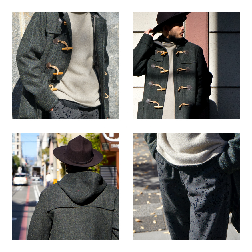RRL | Double Face Wool Duffel Coat