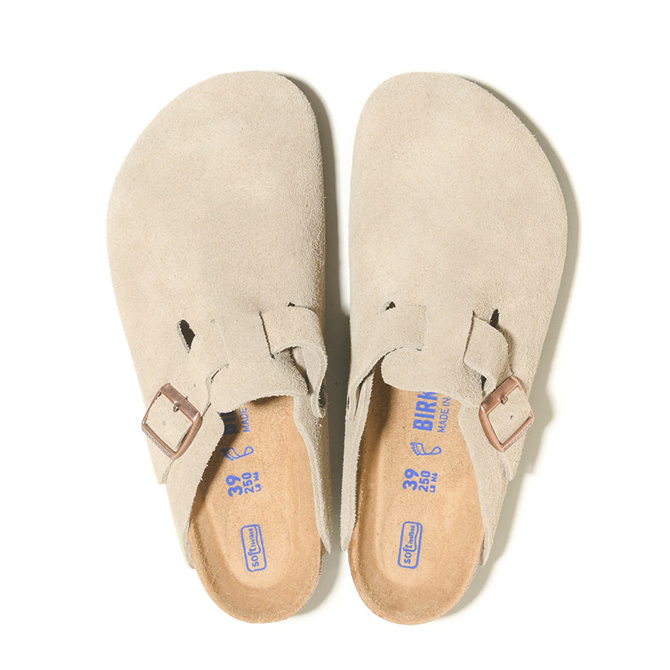 Boston-Suede Leather-Taupe